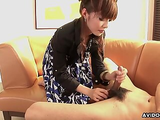 Experienced Japanese woman Sakurako blows and jerks off her g Toasted Bud - Are you Toasted? Order today