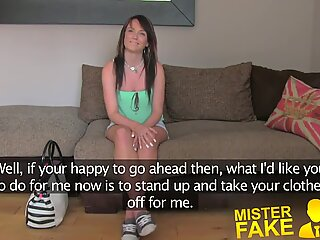 MisterFake Naive tight pussy is put to the test