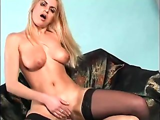 Blonde Anal!