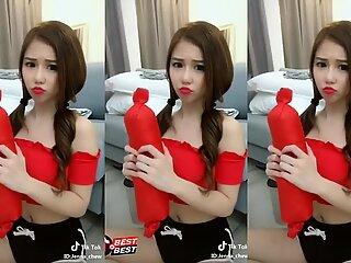 fat funbags Malaysian dame tiktok compilation