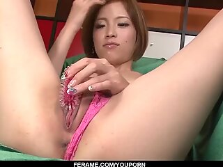 Ena Ouka ends naughty cock sucking play with facial - More at Slurpjp.com