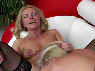 two elder slut mothers fucked by old black meatpipe