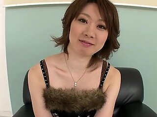 Different set of adult toys for a newbie to porn - Japanese super model.