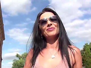 Italian Pornstar Hot Blowjob!