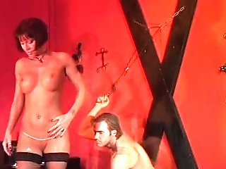 italian playgirl double drilled by 2 dudes!