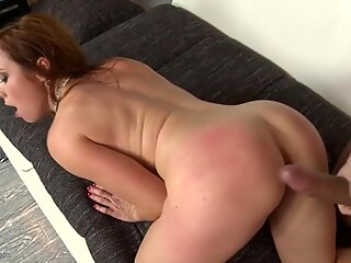 Hungry mature MILF gets big cock in her wet holes