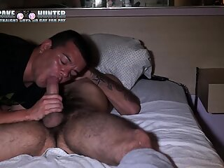 Dark Motel encounter with a 8    straight cock