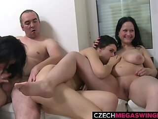 Amateur Housewives Hunting for Cocks on Homeparty