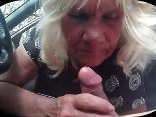 Granny suck cock part 2