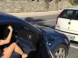 Flashing and naked in public in Italy