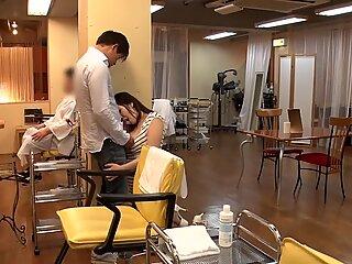 JAV Temptation Salon Mizuna Wakatsuki risky sex Subtitled