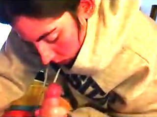 Amateur Girlfriend Blowjob POV - Amatoriale Italiano