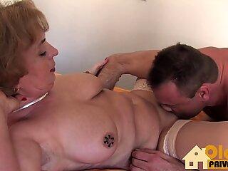 Granny Doc with big tits