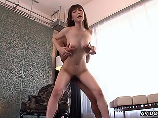 Japanese Kotone Amamiya fucks in a hotel room uncensored