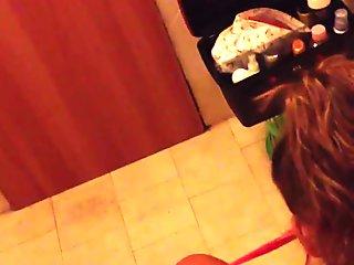 spiata in bagno 3