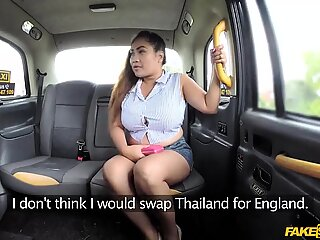 Thai masseuse Miss Pinay works gives massage for free ride