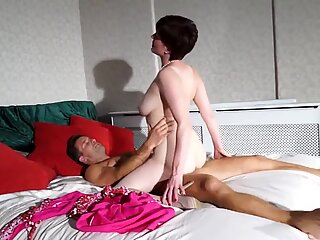 MILF and GILF fucked by young pals