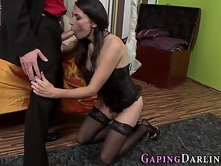 Sexy ass milf gets hairy pussy banged