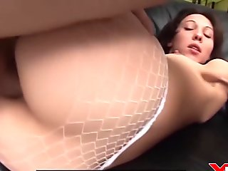 Italian Pornstar Alege gets deep anal fucking