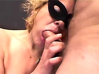 Blonde stockings coguar amateur