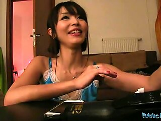 Sweetheart delights stud with her pecker riding