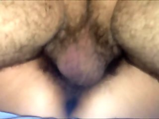 the bull fuck and creampie her wet pussy