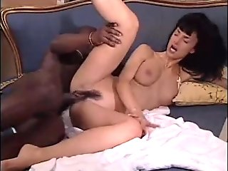 White Venus loves a big black cock