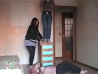 Dangerous High Jumps (Extreme Trampling)