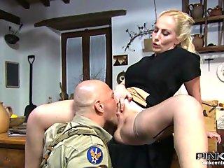 Italian milf blowjob