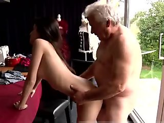 Girl blowjobs and cumshots young italians Horny senior Bruce spots a