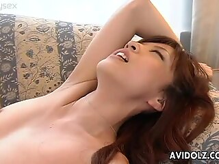 Adorable Japanese wench Imano Yume gets her horny wet twat licked properly