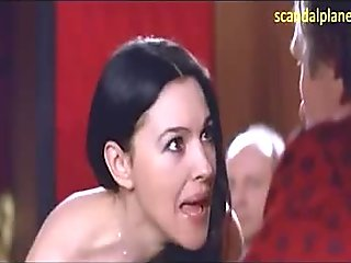 Monica Bellucci Nude Busty Boobs In Combien Tu Maimes ScandalPlanetCom
