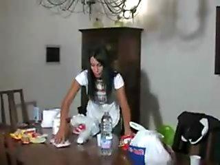 Angela Gritti in Italian threesome
