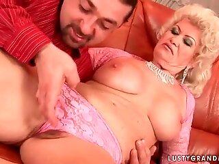 Lusty Grandmas Hard Sex