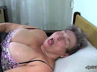 Fat Granny And A Burnett